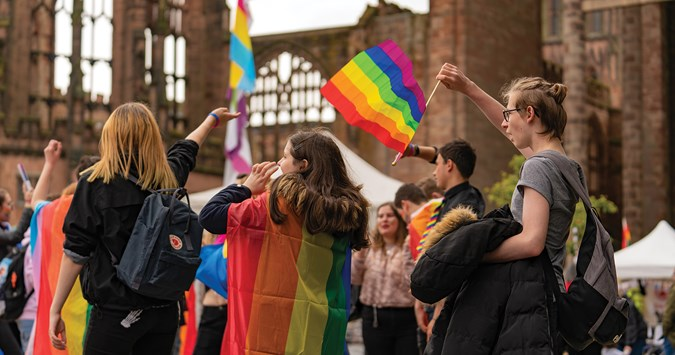Crowdfunding appeal after £5,000 Coventry Pride shortfall