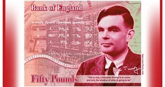 Gay World War Two codebreaker Alan Turing is the new face on the £50 note