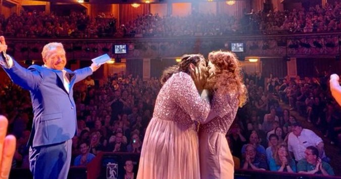 Broadway show: Gay couple get married for real during curtain call of hit lesbian musical