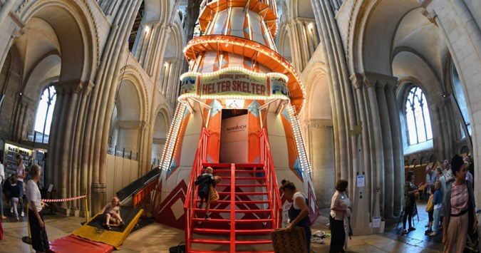 Ex-Stonewall chief slams cathedrals for their crazy-golf and helter skelter installations