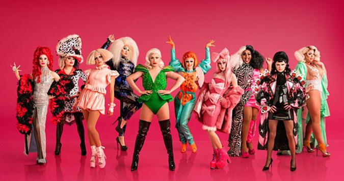 Ru-vealed! The line-up for the first ever series of RuPaul's Drag Race UK