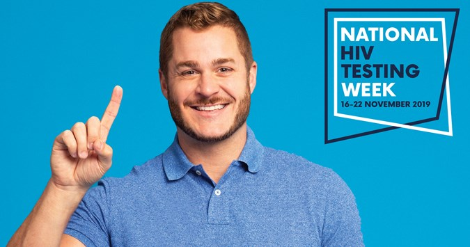 National HIV Testing Week: It's time to get tested