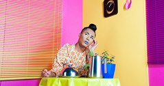 Walk on by: Non-binary performance artist Travis Alabanza in chicken burger shock