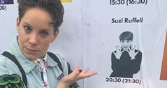 Gay stand-up Suzi Ruffell set to Dance Like Everyone's Watching in the Midlands this week