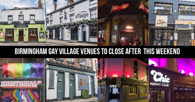 Birmingham Gay Village closes in attempt to contain coronavirus outbreak