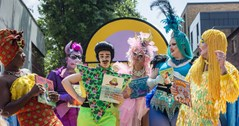 Fantabulosa! Lunchtime storytime with popular drag stars every day this week