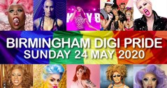 You can't keep a good Pride down! Birmingham Pride goes digital Sunday afternoon