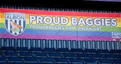 Proud Baggies: West Bromwich Albion's LGBT supporters' group launches season review