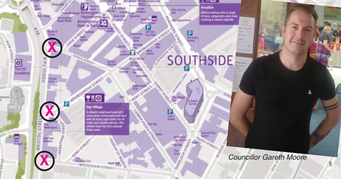 Birmingham councillor voices concern over transport-plan impact on city's Gay Village
